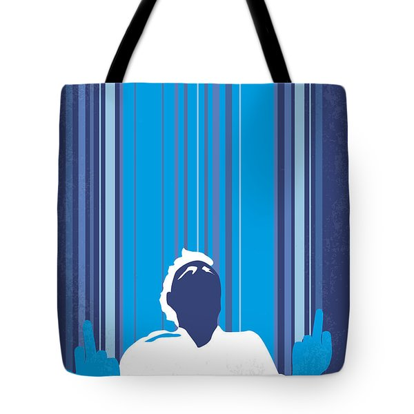 No220 My This is the end minimal movie poster Tote Bag by Chungkong Art