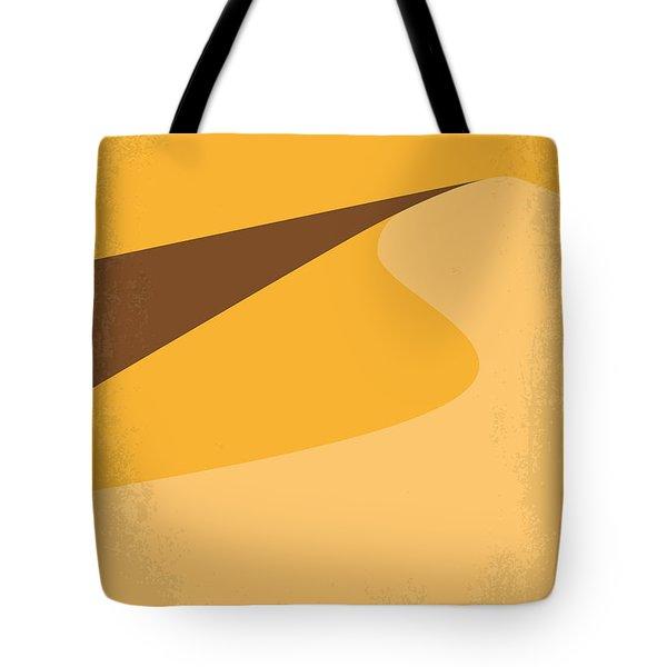 No251 My Dune Minimal Movie Poster Tote Bag by Chungkong Art
