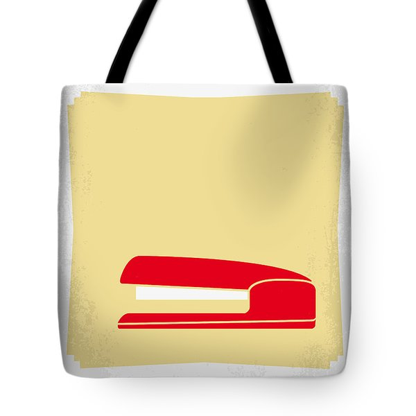 No255 My Office Space Minimal Movie Poster Tote Bag by Chungkong Art