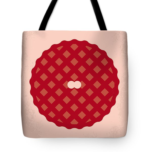No262 My American Pie Minimal Movie Poster Tote Bag by Chungkong Art