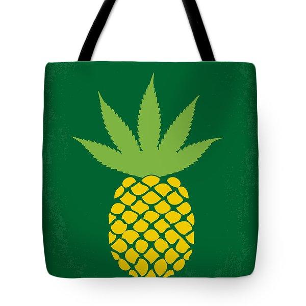 No264 My Pineapple Express Minimal Movie Poster Tote Bag by Chungkong Art