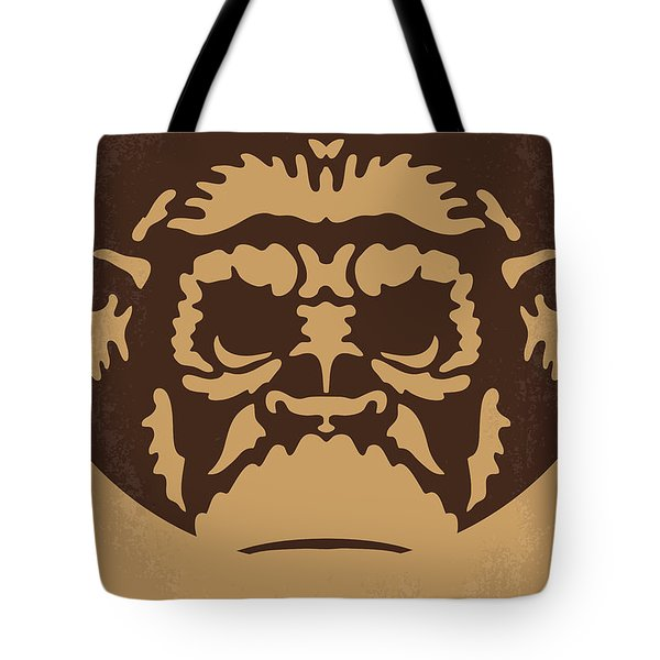 No270 My Planet Of The Apes Minimal Movie Poster Tote Bag by Chungkong Art