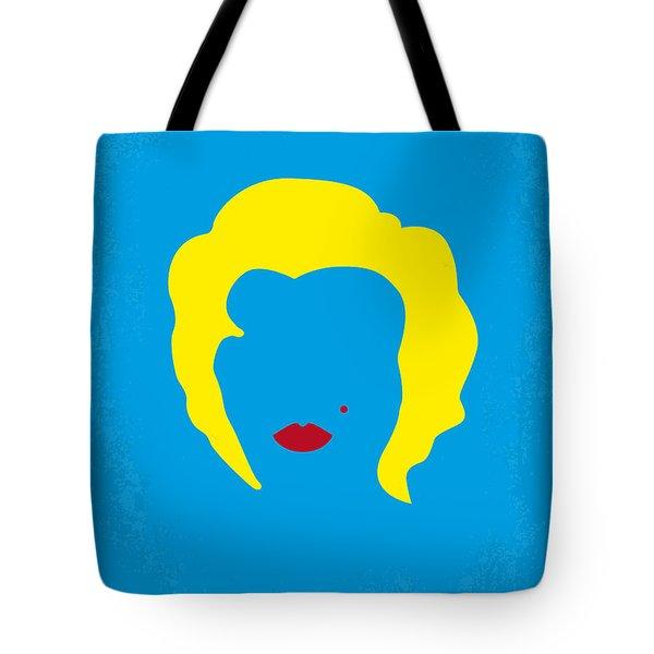 No284 My Week With Marilyn Minimal Movie Poster Tote Bag by Chungkong Art