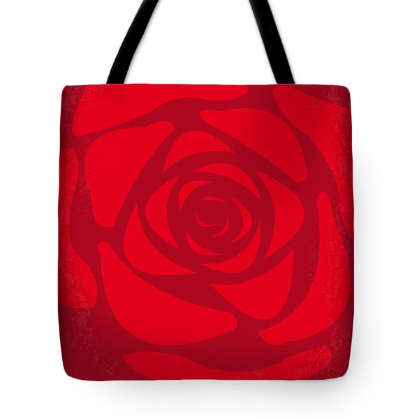 No313 My American Beauty Minimal Movie Poster Tote Bag by Chungkong Art