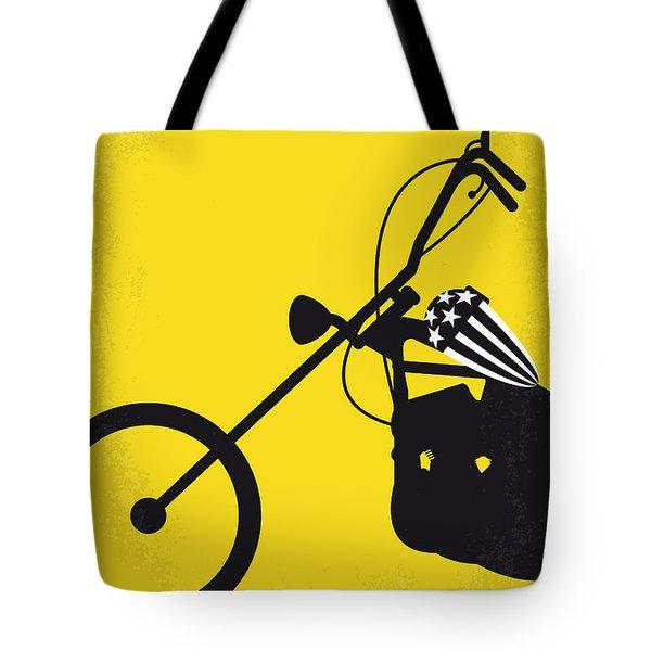 No333 My Easy Rider Minimal Movie Poster Tote Bag by Chungkong Art