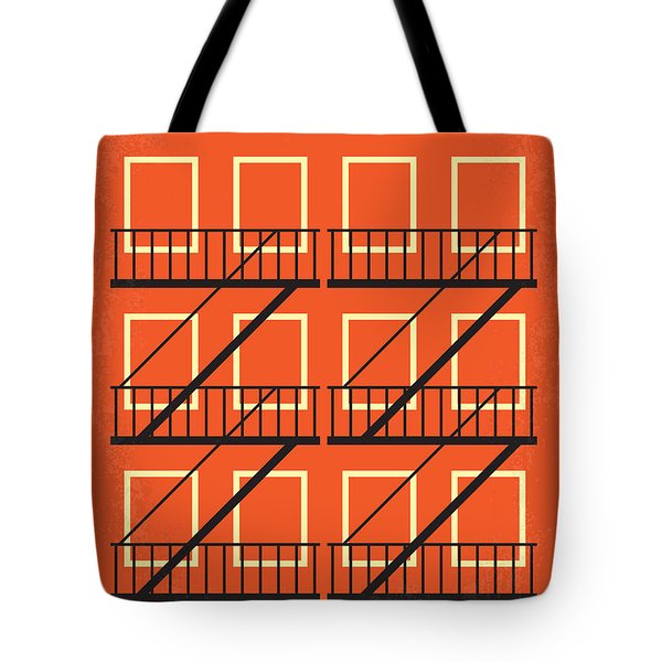 No387 My West Side Story Minimal Movie Poster Tote Bag by Chungkong Art