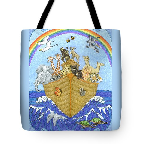 Noah's Ark Tote Bag by Alison Stein