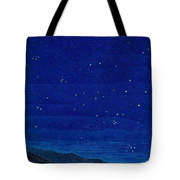 Nocturnal Landscape Tote Bag by Francois-Louis Schmied
