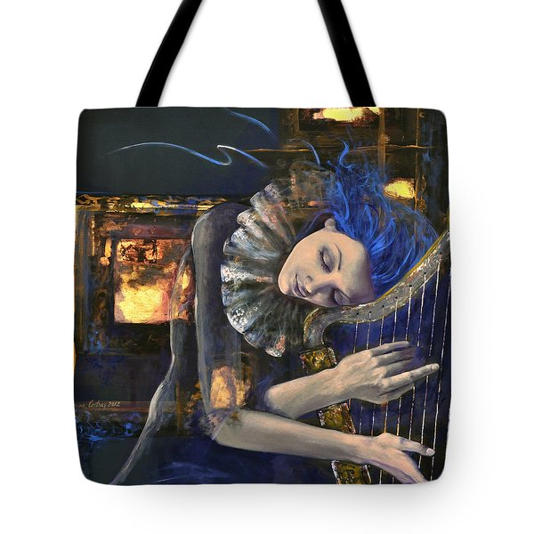Nocturne Tote Bag by Dorina  Costras