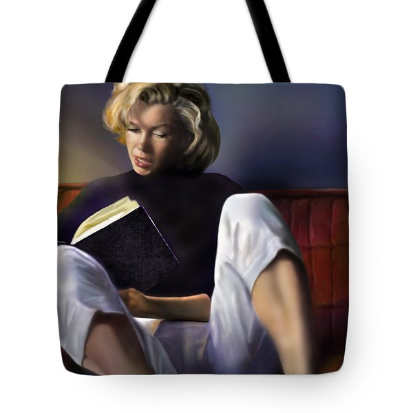 Norma Jeane Baker Tote Bag by Reggie Duffie