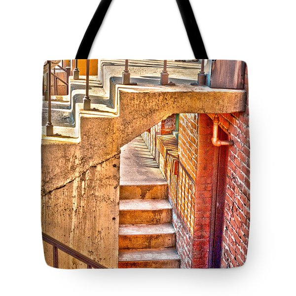 North By Northwest By Denise Dube Tote Bag by Denise Dube