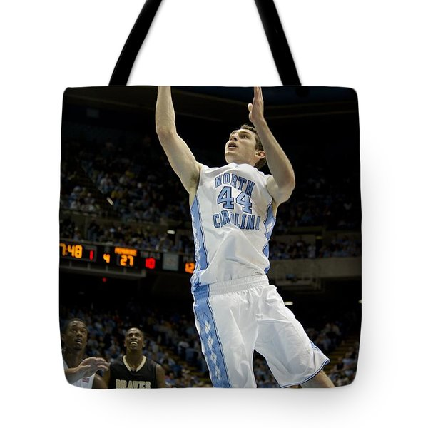 North Carolina Basketball Tote Bag by Mountain Dreams