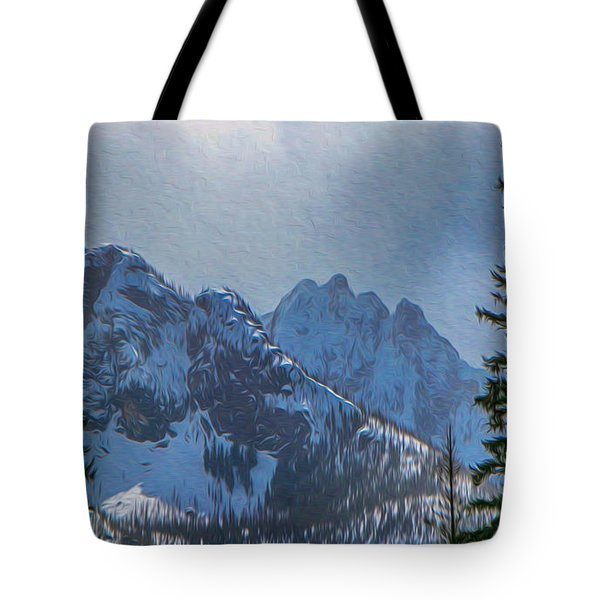 North Cascades Inspiration Tote Bag by Omaste Witkowski