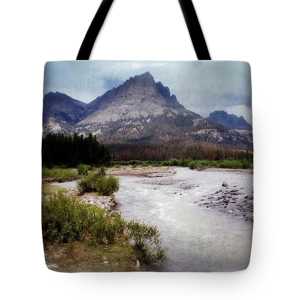 North Of Dubois Tote Bag by Marty Koch