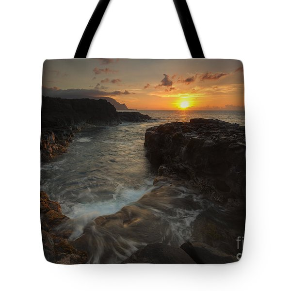 North Shore Paradise Tote Bag by Mike  Dawson
