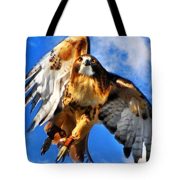 North Wind Tote Bag by Christina Rollo
