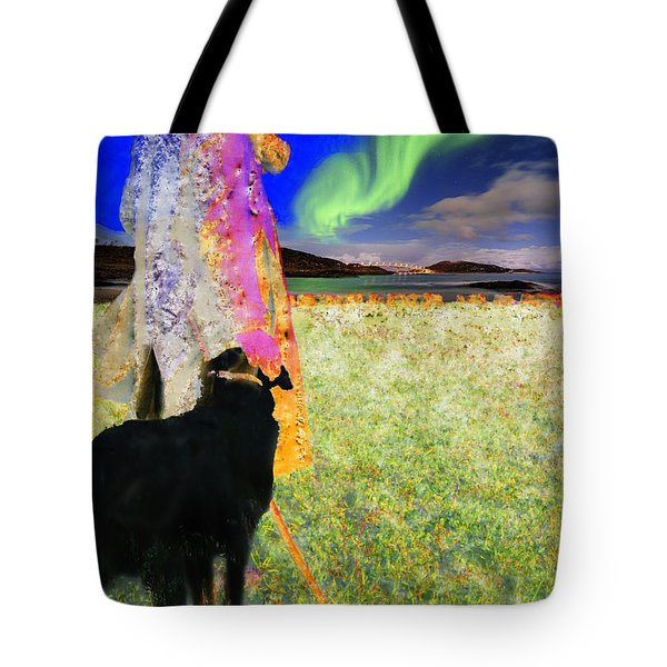 Northern Lights Tote Bag by Chuck Staley