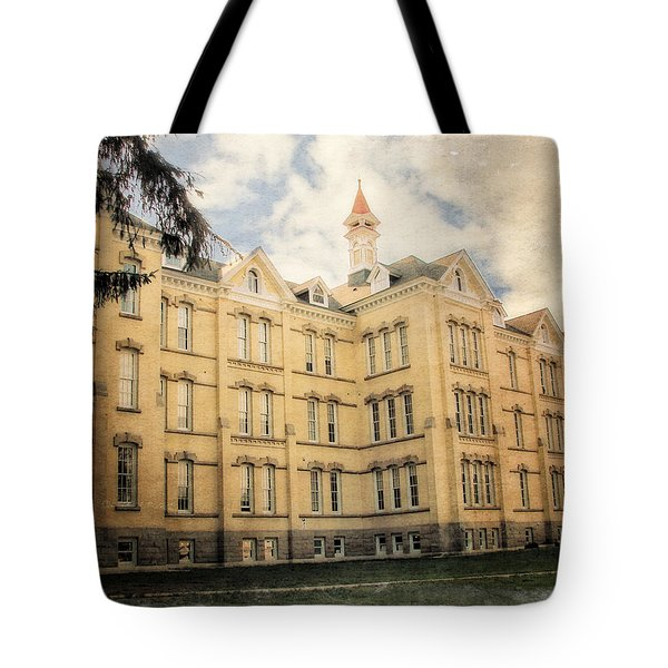 Northern Michigan Asylum Tote Bag by Michelle Calkins