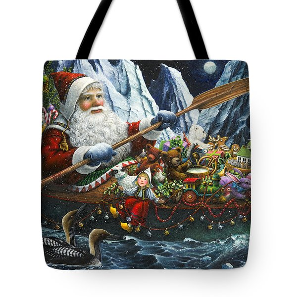Northern Passage Tote Bag by Lynn Bywaters