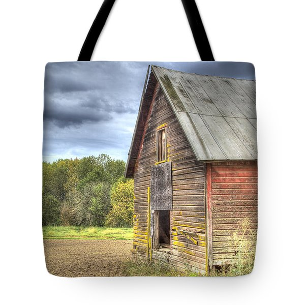 Northwest Barn Tote Bag by Jean Noren
