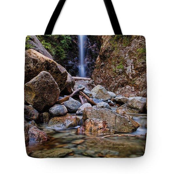 Norvan Falls Tote Bag by James Wheeler