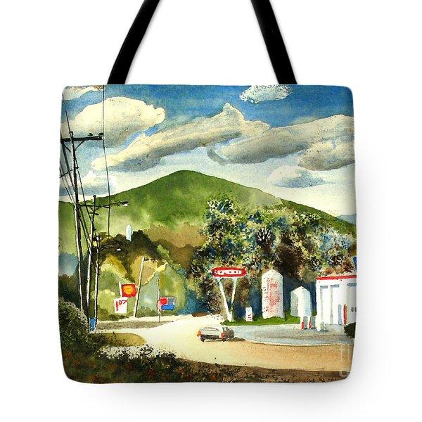 Nostalgia Arcadia Valley 1985 Tote Bag by Kip DeVore