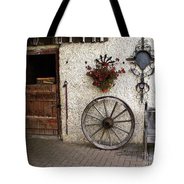 Nostalgia Tote Bag by Jutta Maria Pusl