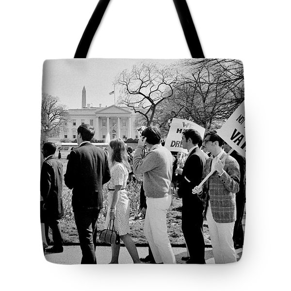 Not In Vain Tote Bag by Benjamin Yeager