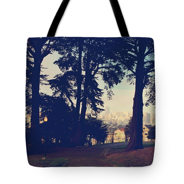 Not So Far  Tote Bag by Laurie Search
