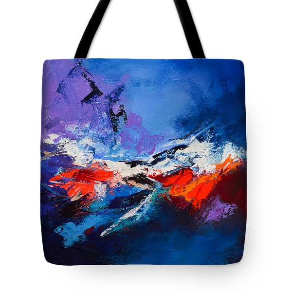 Nothing Else Matters Tote Bag by Elise Palmigiani