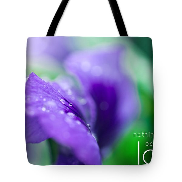 Nothing Falls As Deep As Love Tote Bag by Shane Holsclaw