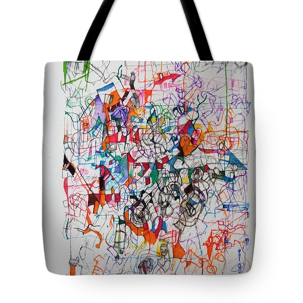 Nothing Left But Prayer Tote Bag by David Baruch Wolk