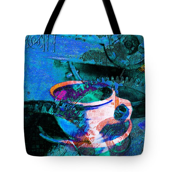 Nothing Like A Hot Cuppa Joe In The Morning To Get The Old Wheels Turning 20130718p168 Tote Bag by Wingsdomain Art and Photography