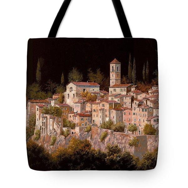 Notte Senza Luna Tote Bag by Guido Borelli