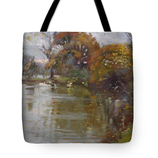 November 4th At Hyde Park Tote Bag by Ylli Haruni