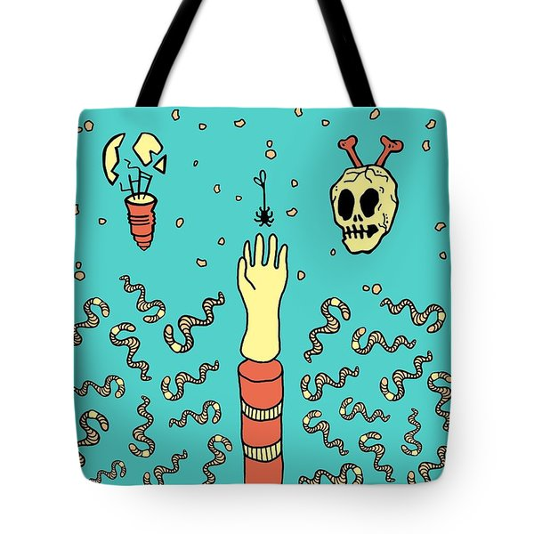 Nowhere Fast Tote Bag by Freshinkstain