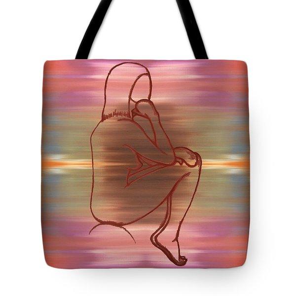 Nude 12 Tote Bag by Patrick J Murphy