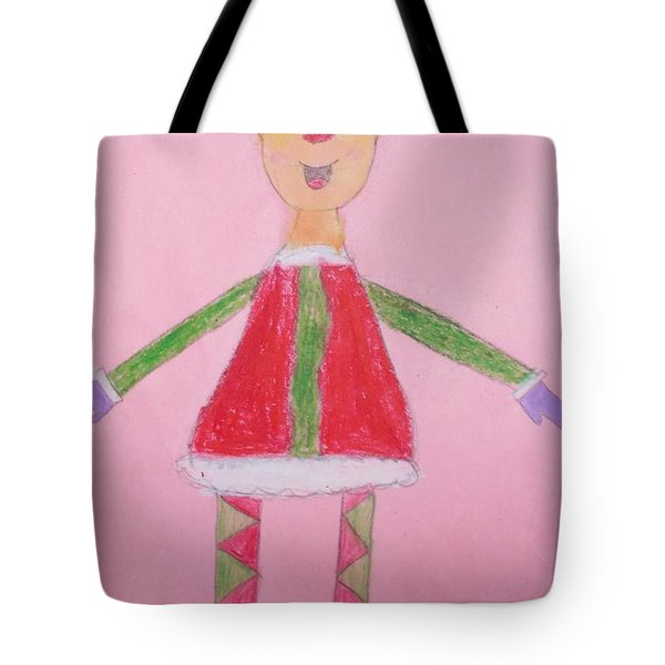 Number One Elf  Tote Bag by PainterArtist FIN
