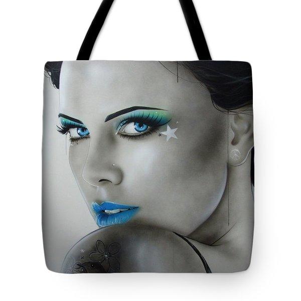 'nurture' Tote Bag by Christian Chapman Art