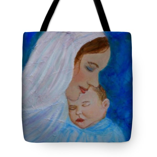 Nurturing Love Of A Mother  Tote Bag by The Art With A Heart By Charlotte Phillips