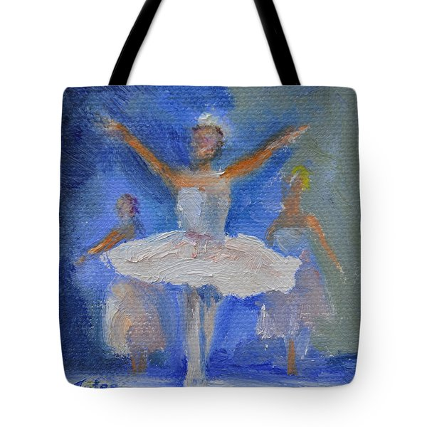 Nutcracker Ballet Tote Bag by Donna Tuten