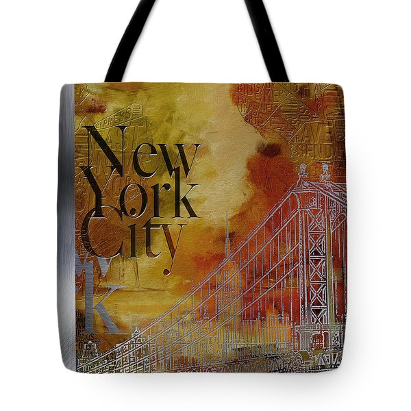 Ny City Collage - 6 Tote Bag by Corporate Art Task Force