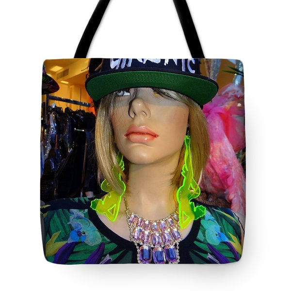 Nyc Girl Tote Bag by Ed Weidman