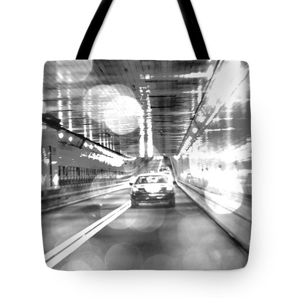 Nyc Lights And Movements Tote Bag by Anahi DeCanio