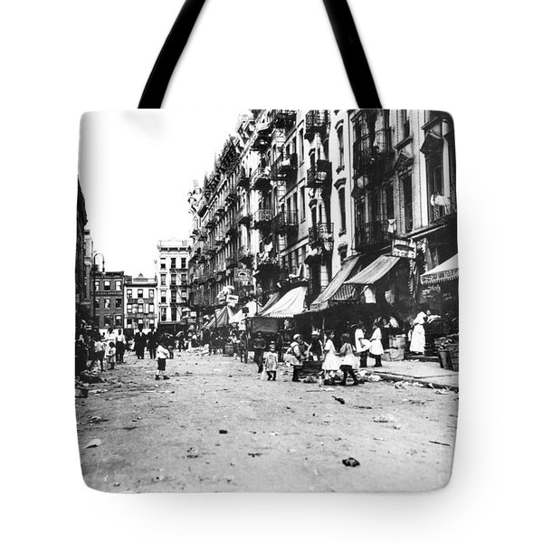 Nyc Lower East Side Tote Bag by Granger