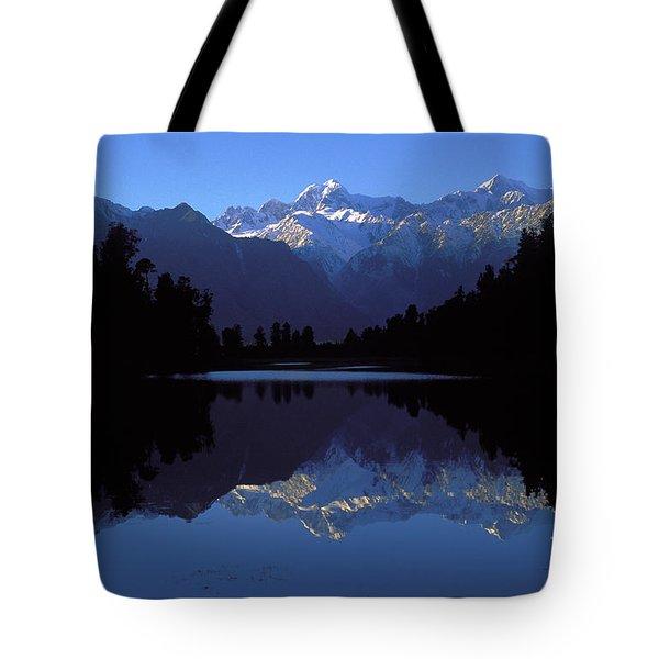 Nz Alps Tote Bag by Steven Ralser