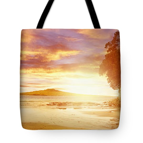 NZ sunlight Tote Bag by Les Cunliffe