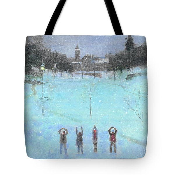 O-h-i-o Tote Bag by Stan Fellows