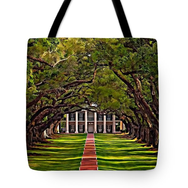 Oak Alley II Tote Bag by Steve Harrington