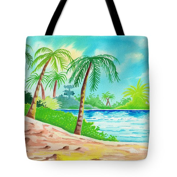 Oasis Tote Bag by Anthony Mwangi